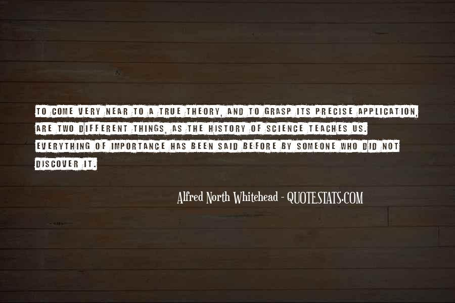 Alfred North Whitehead Quotes #193953
