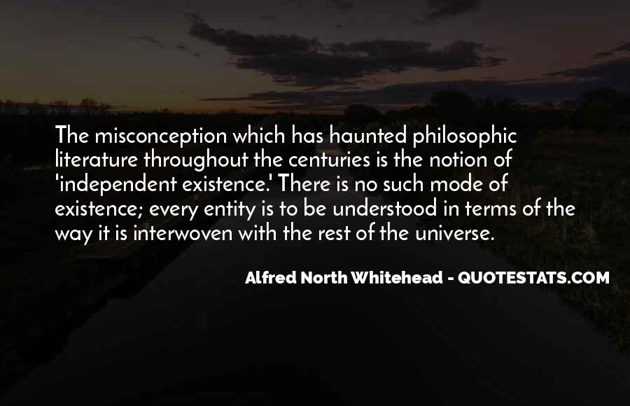 Alfred North Whitehead Quotes #196177