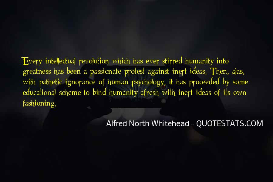 Alfred North Whitehead Quotes #387302