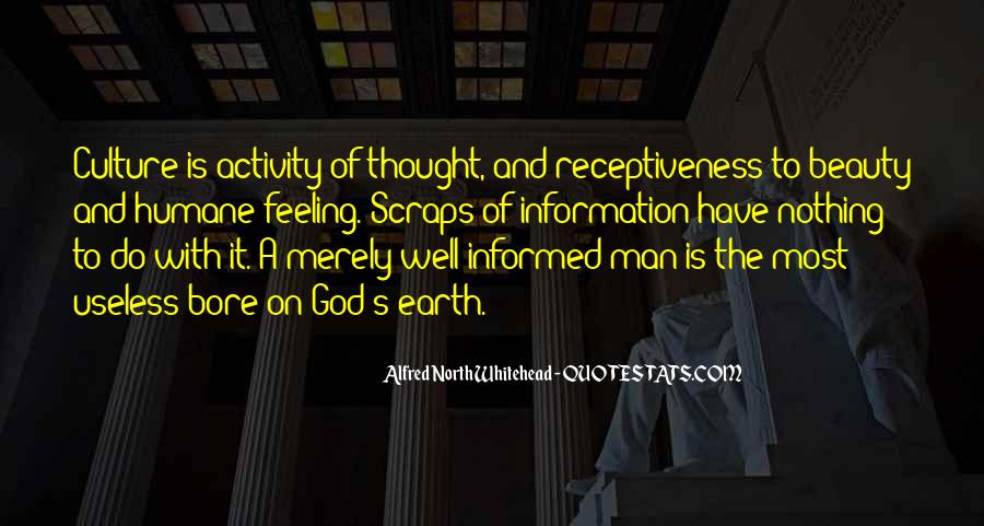 Alfred North Whitehead Quotes #419742