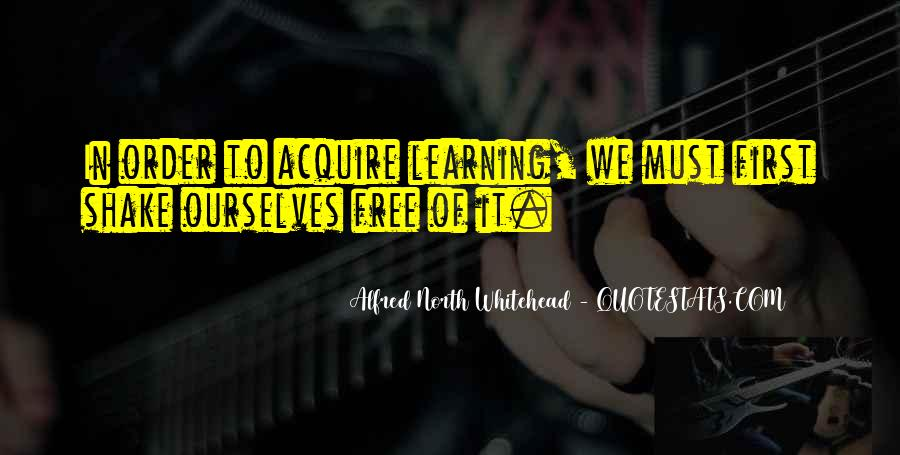 Alfred North Whitehead Quotes #573504