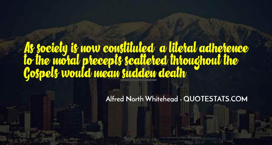 Alfred North Whitehead Quotes #875600