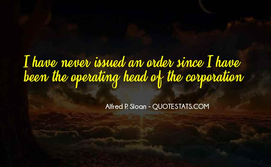 Alfred P. Sloan Quotes #57758