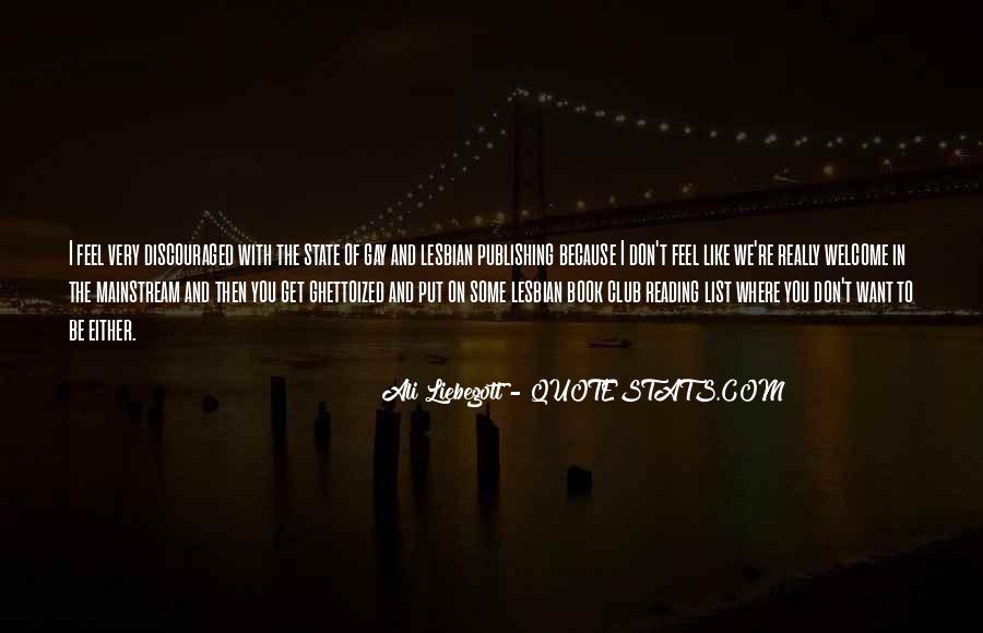Ali Liebegott Quotes #1246899