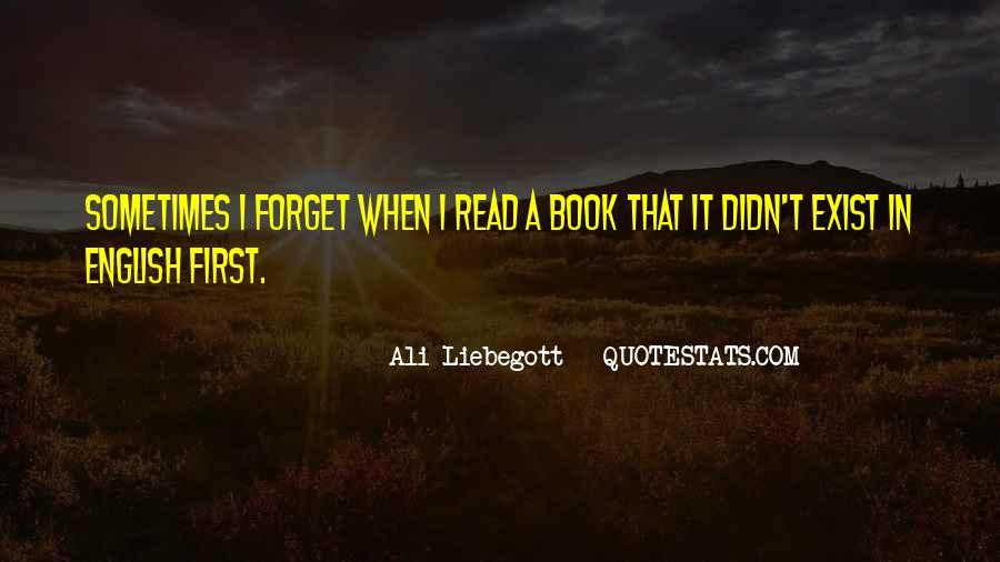 Ali Liebegott Quotes #1627868