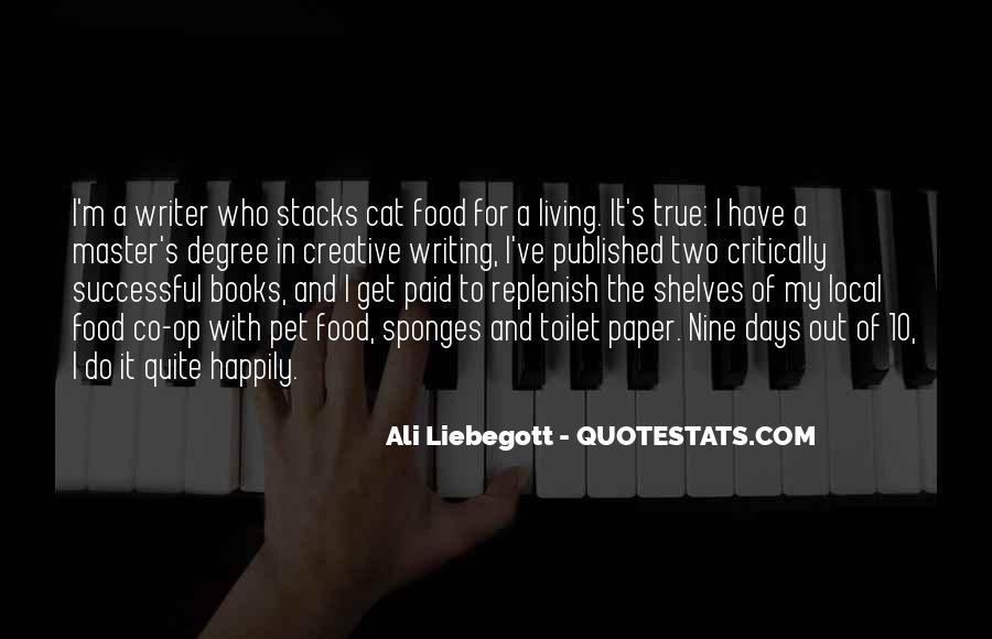 Ali Liebegott Quotes #1860639