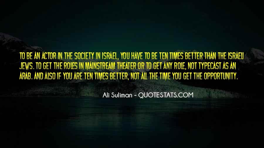 Ali Suliman Quotes #509534