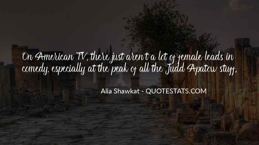 Alia Shawkat Quotes #1634905