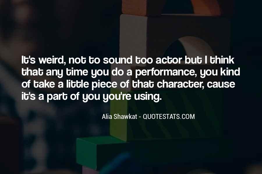 Alia Shawkat Quotes #63891