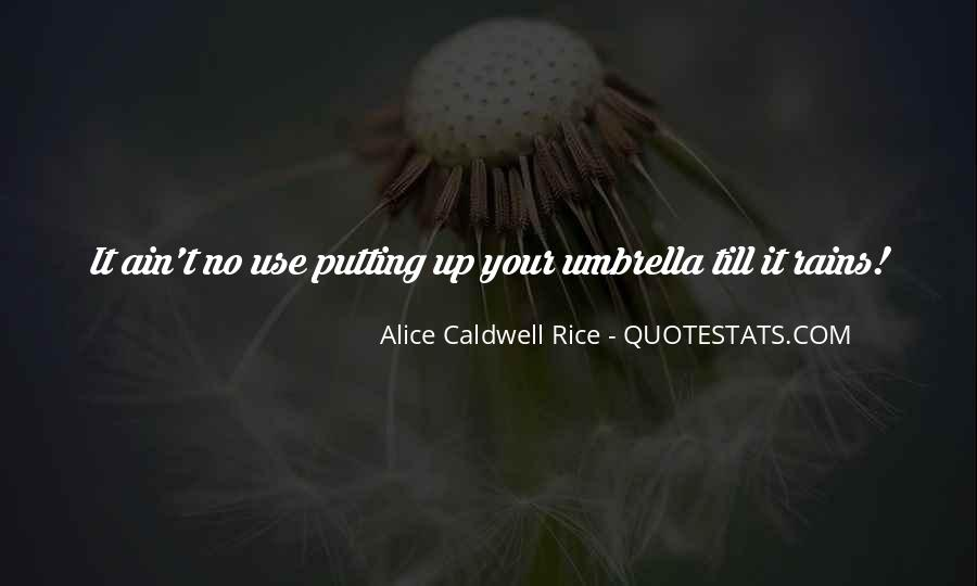 Alice Caldwell Rice Quotes #815531