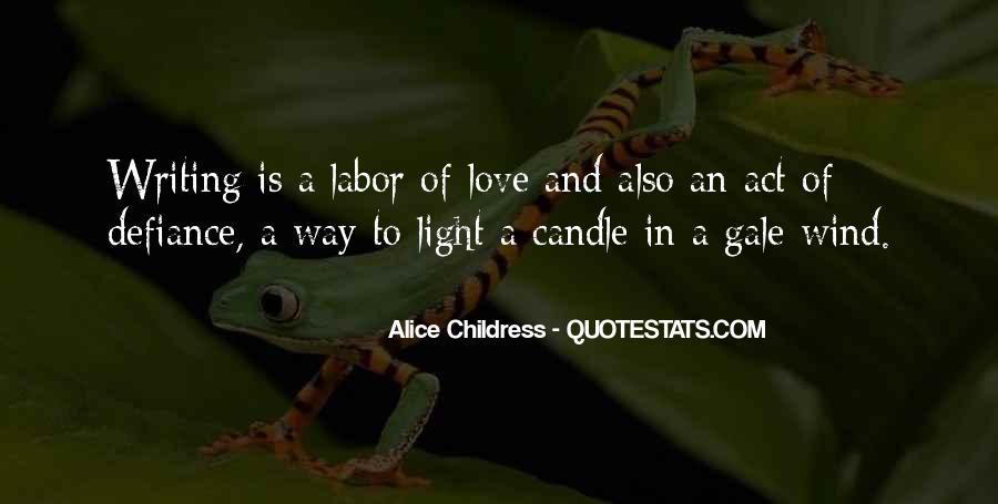 Alice Childress Quotes #1231116
