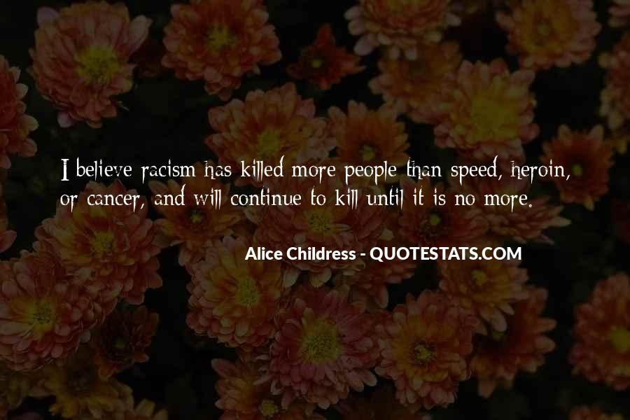 Alice Childress Quotes #531438