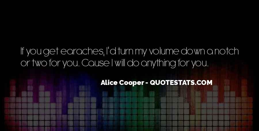 Alice Cooper Quotes #1119124
