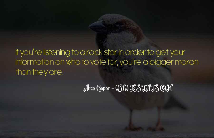 Alice Cooper Quotes #1685833