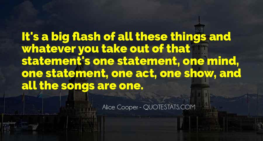 Alice Cooper Quotes #1869135