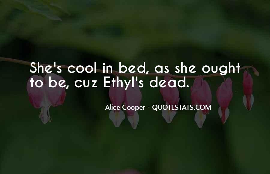 Alice Cooper Quotes #255872