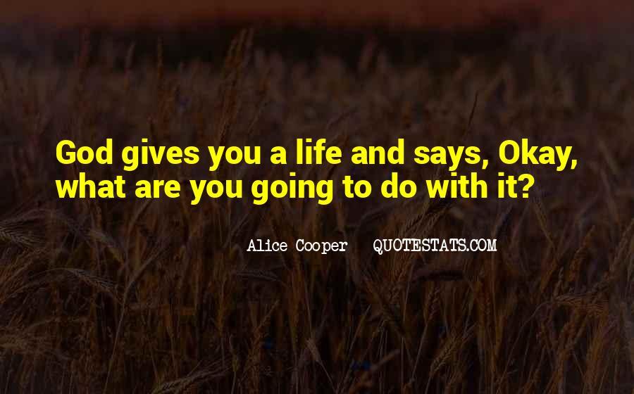Alice Cooper Quotes #765611