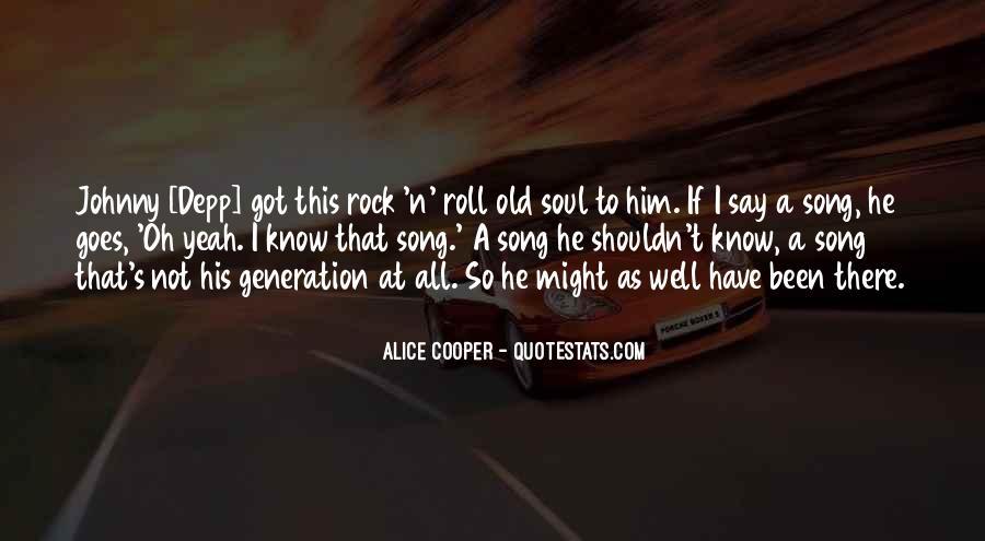Alice Cooper Quotes #797560