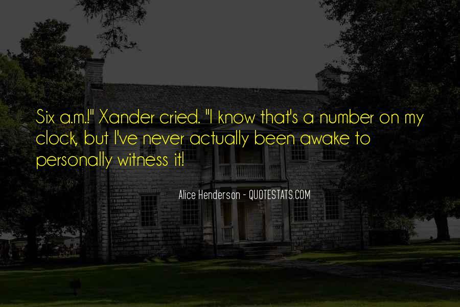Alice Henderson Quotes #182193