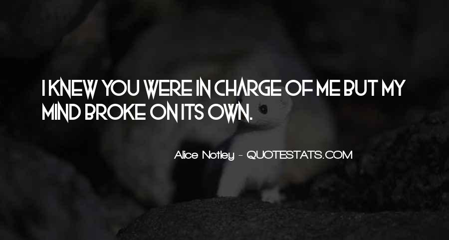 Alice Notley Quotes #124976