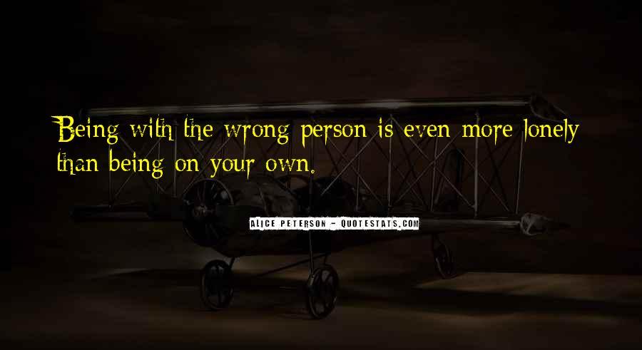 Alice Peterson Quotes #1065926