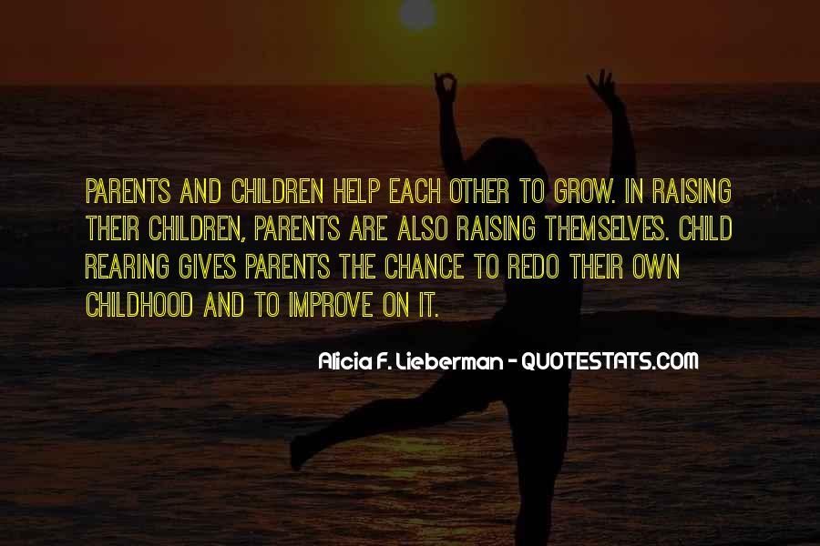 Alicia F. Lieberman Quotes #1742894
