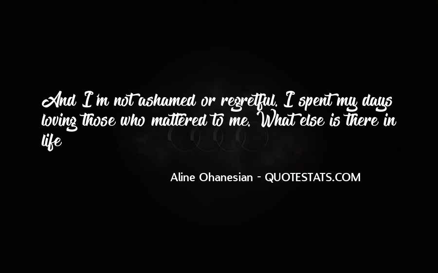 Aline Ohanesian Quotes #1071792