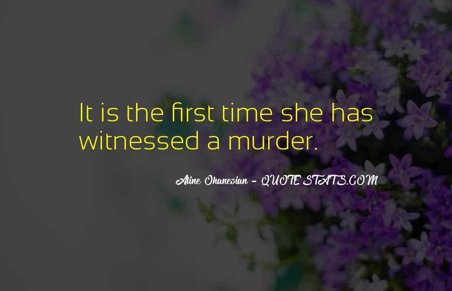 Aline Ohanesian Quotes #508705
