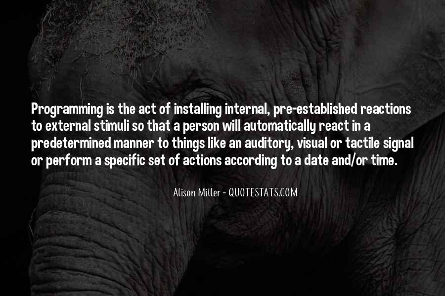 Alison Miller Quotes #328627