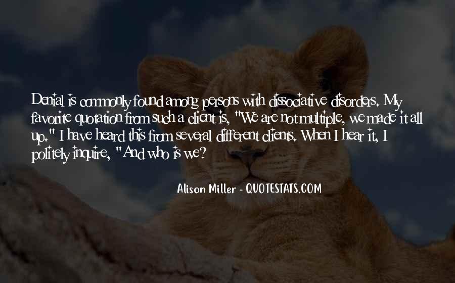 Alison Miller Quotes #821153