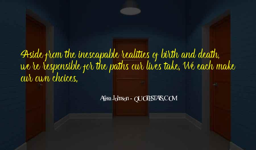 Alissa Johnson Quotes #1029815