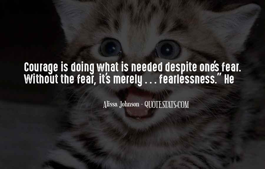 Alissa Johnson Quotes #1287544