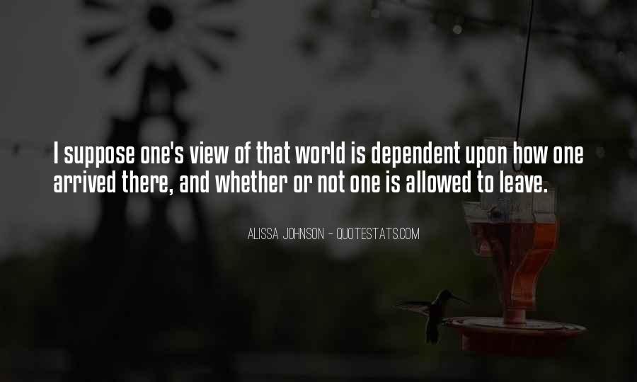 Alissa Johnson Quotes #1419848