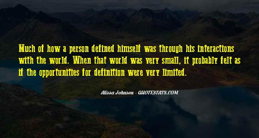 Alissa Johnson Quotes #1495013