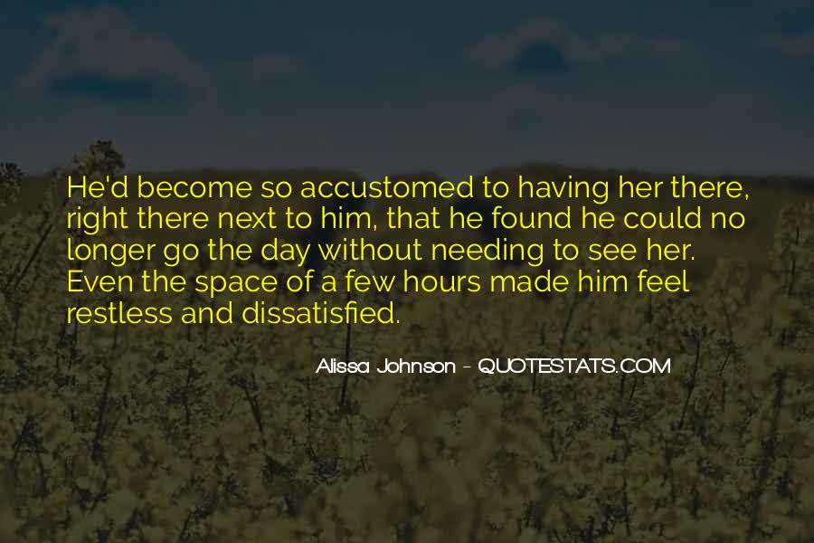 Alissa Johnson Quotes #1714645