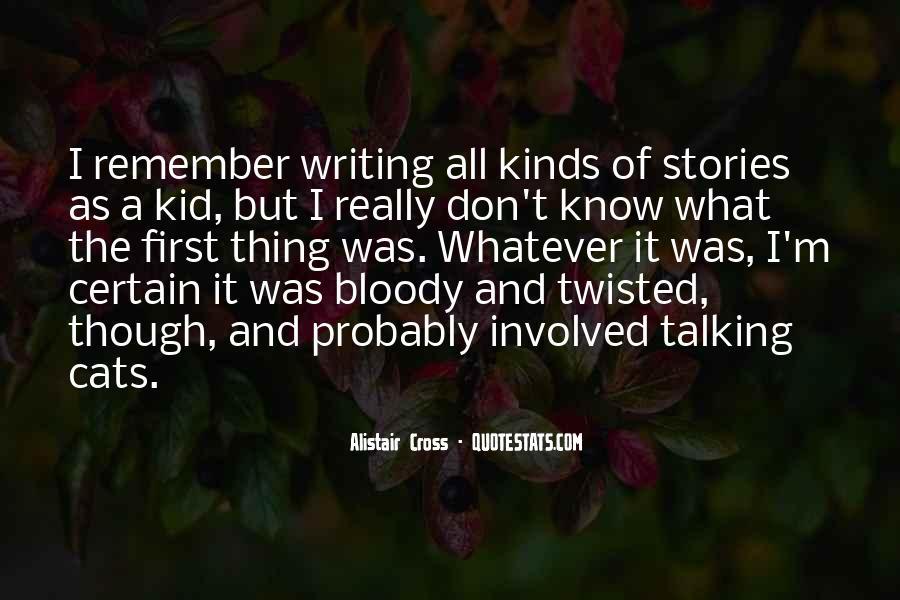 Alistair Cross Quotes #1321333