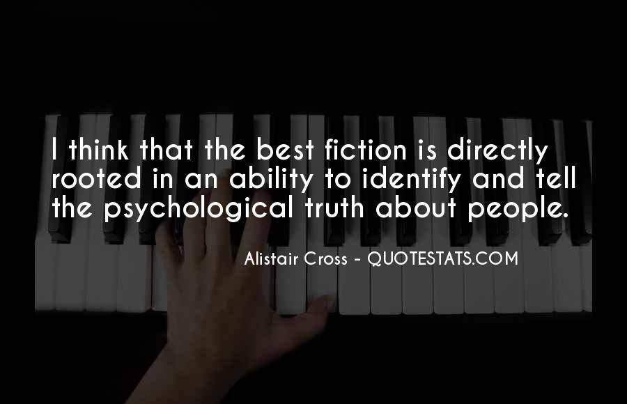 Alistair Cross Quotes #1709959