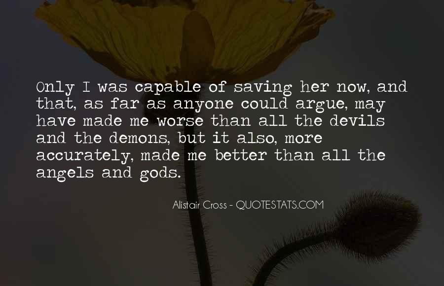Alistair Cross Quotes #850749