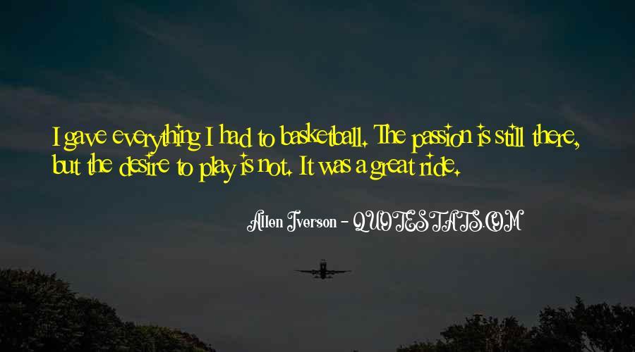 Allen Iverson Quotes #1063489