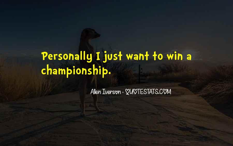 Allen Iverson Quotes #1701953