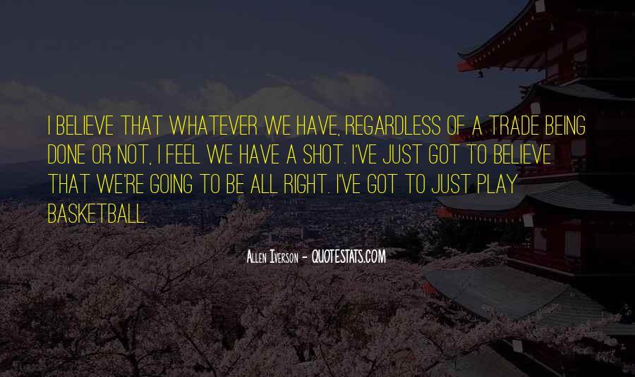 Allen Iverson Quotes #1909