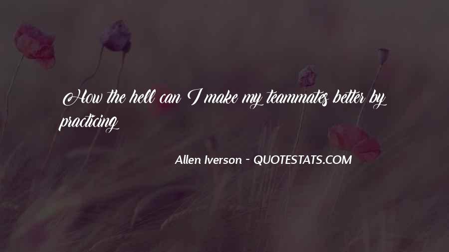 Allen Iverson Quotes #384866