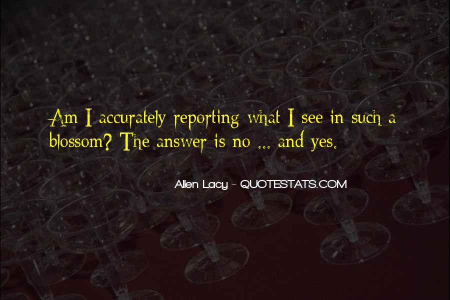 Allen Lacy Quotes #651361