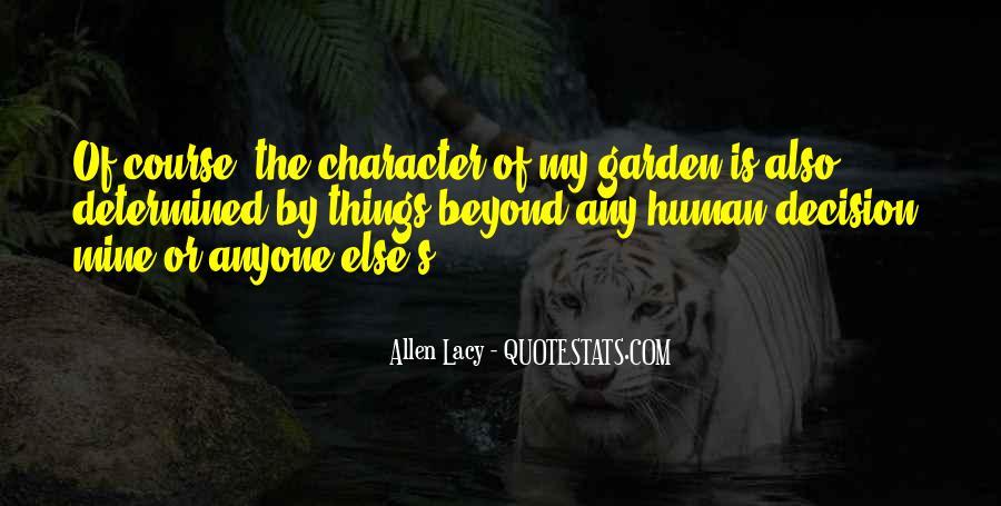 Allen Lacy Quotes #988851