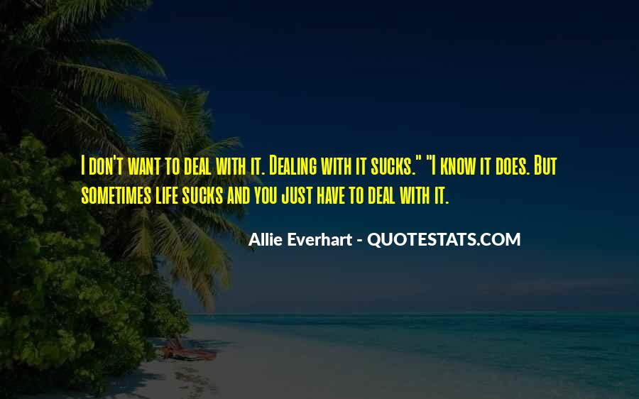 Allie Everhart Quotes #768521