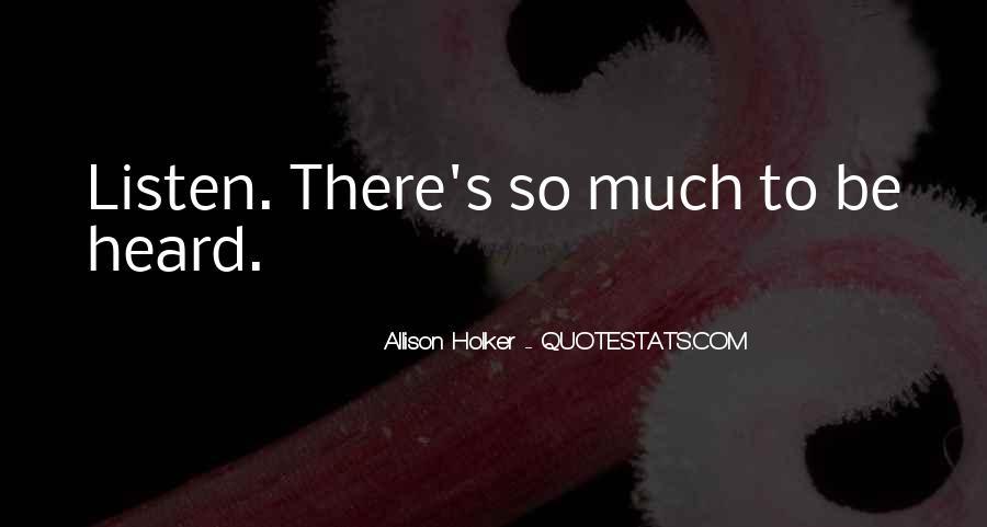 Allison Holker Quotes #1249321