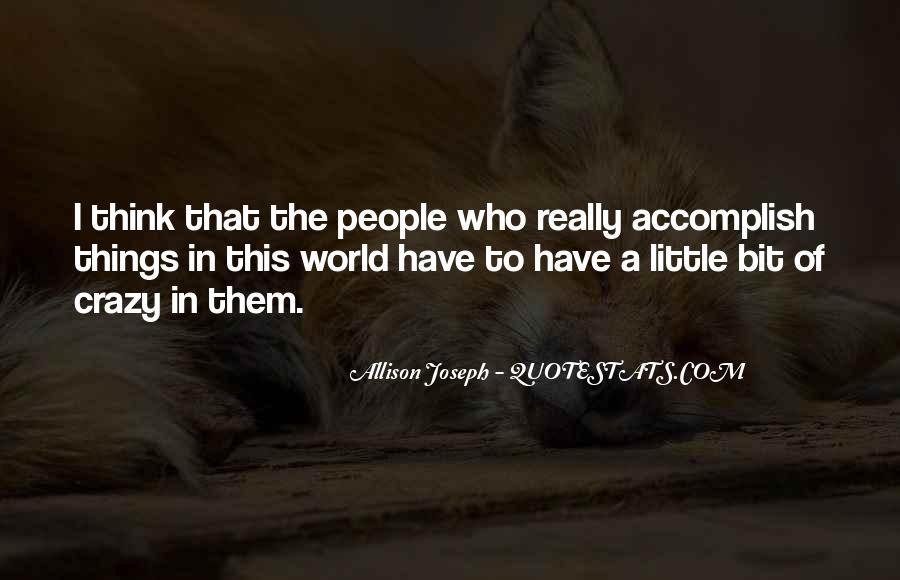 Allison Joseph Quotes #1566537