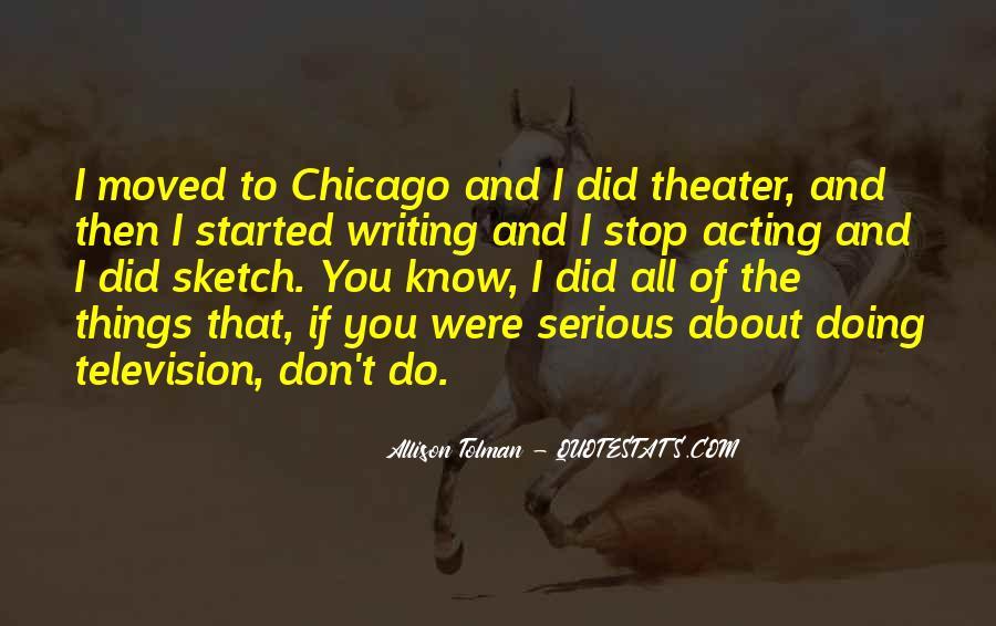 Allison Tolman Quotes #106419
