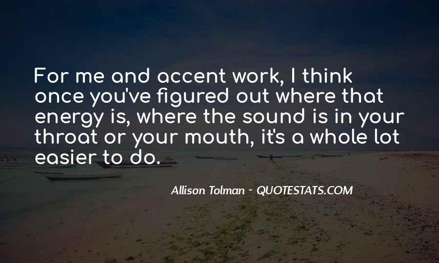 Allison Tolman Quotes #1129800