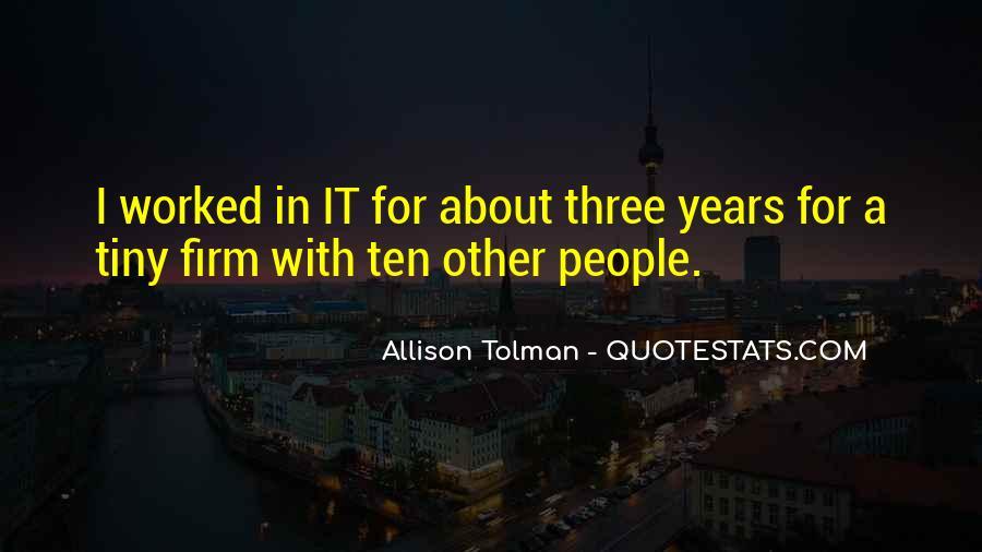 Allison Tolman Quotes #1247367